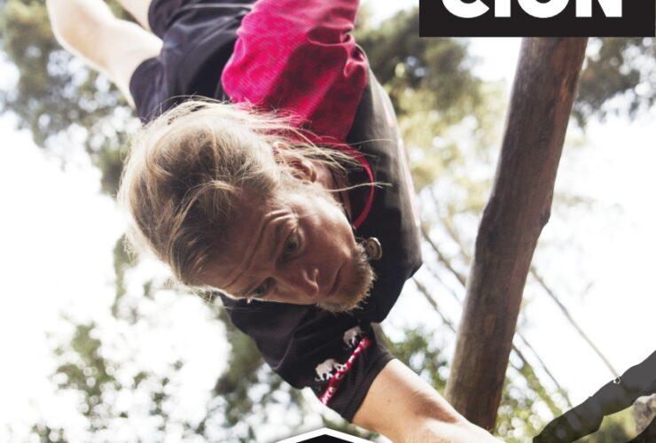 Cartel del curso de formación deportiva de jungle move en hara sport center en tenerife